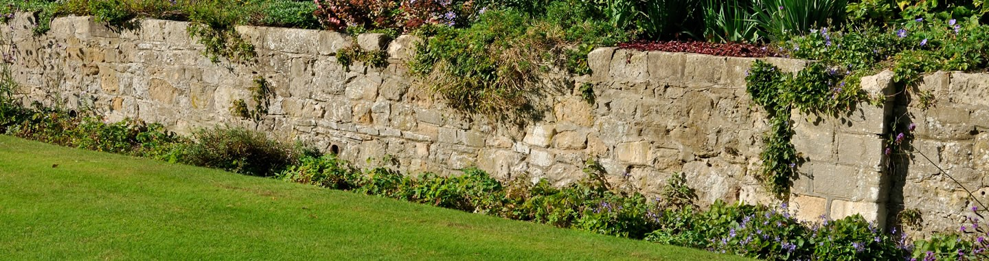 Retaining walls advanced gardens sheffield creating garden walls in sheffield workwithnaturefo
